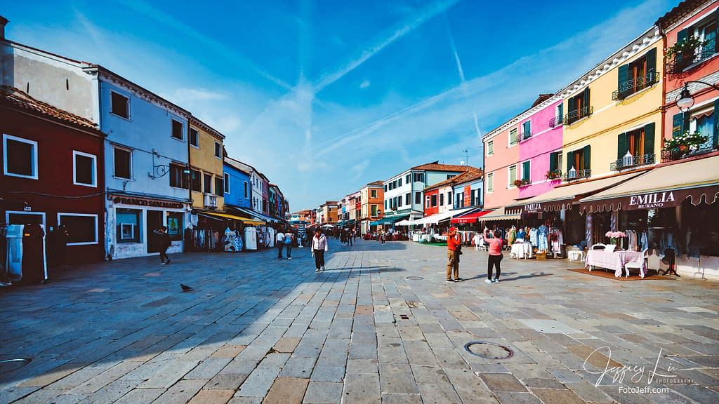 40. Strolling along Piazza Galuppi