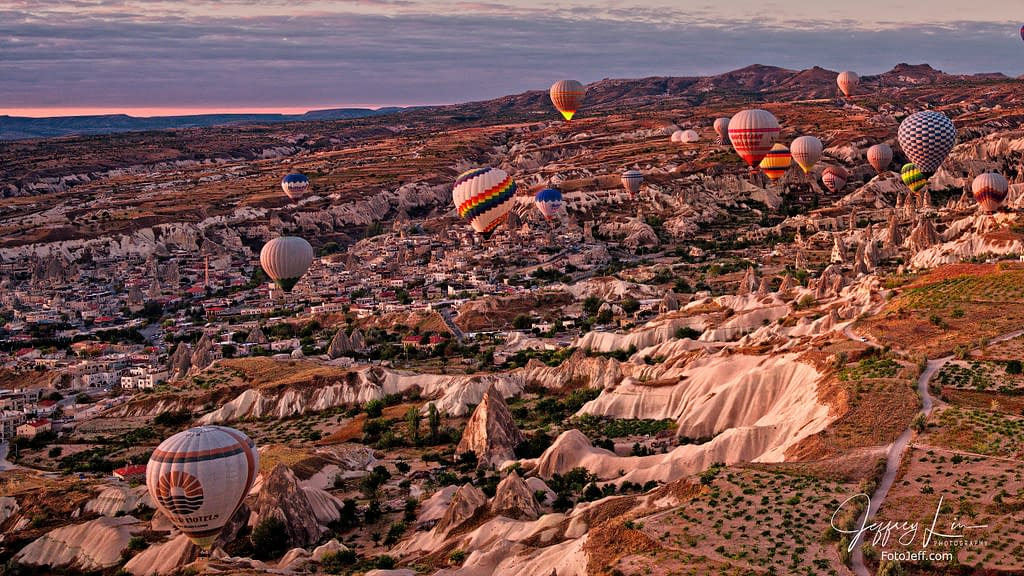 13. 6:46 am - Incredibly Scenic from Hot Air Balloon Cappadocia