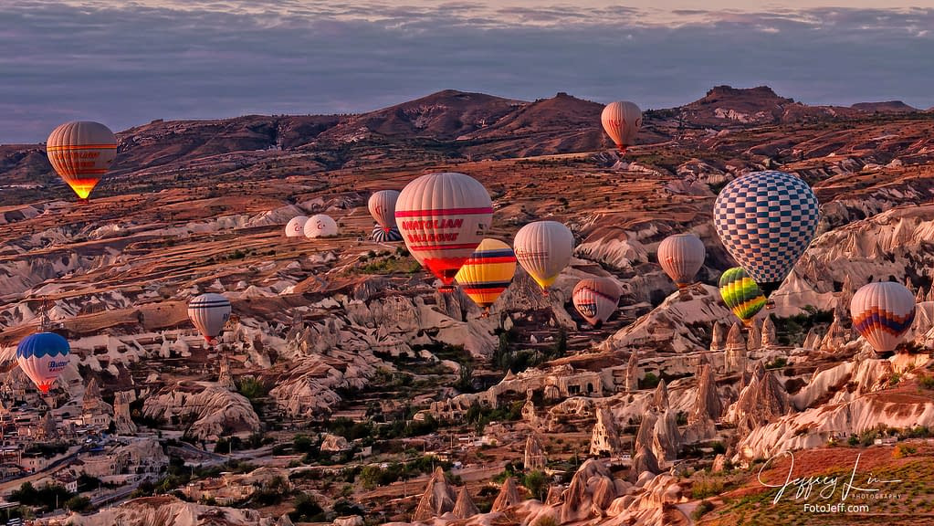 14. 6:46 am - Incredibly Scenic from Hot Air Balloon Cappadocia