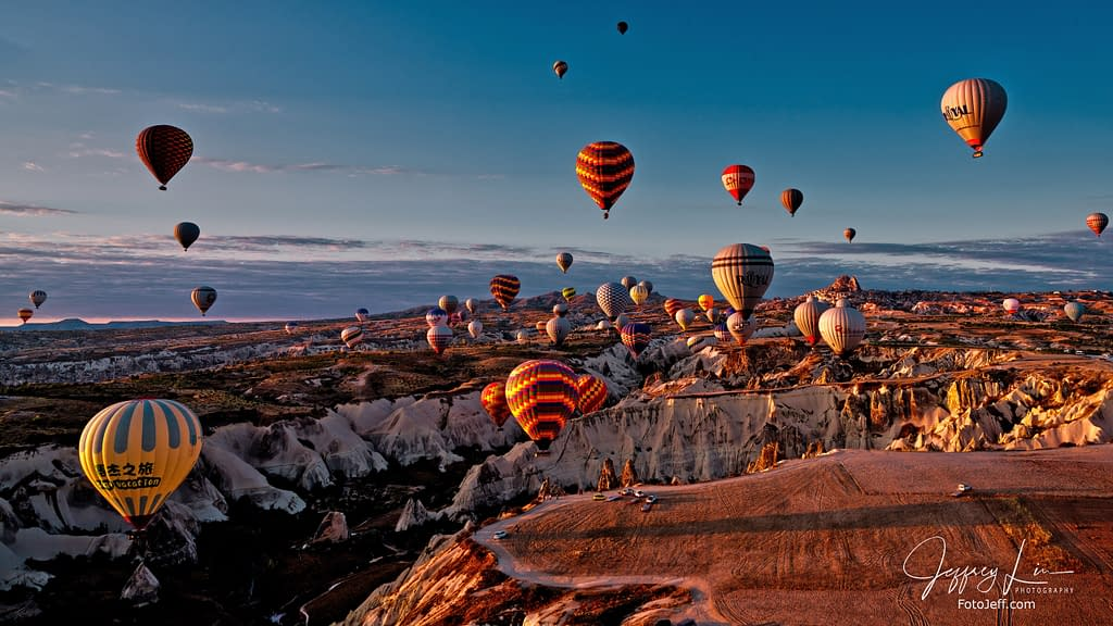 24. 6:55 am - Incredibly Scenic from Hot Air Balloon Cappadocia