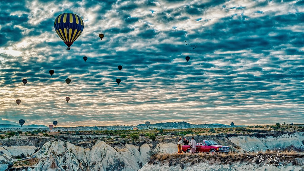 40. 7:26 am - View from Hot Air Balloon Landing Site