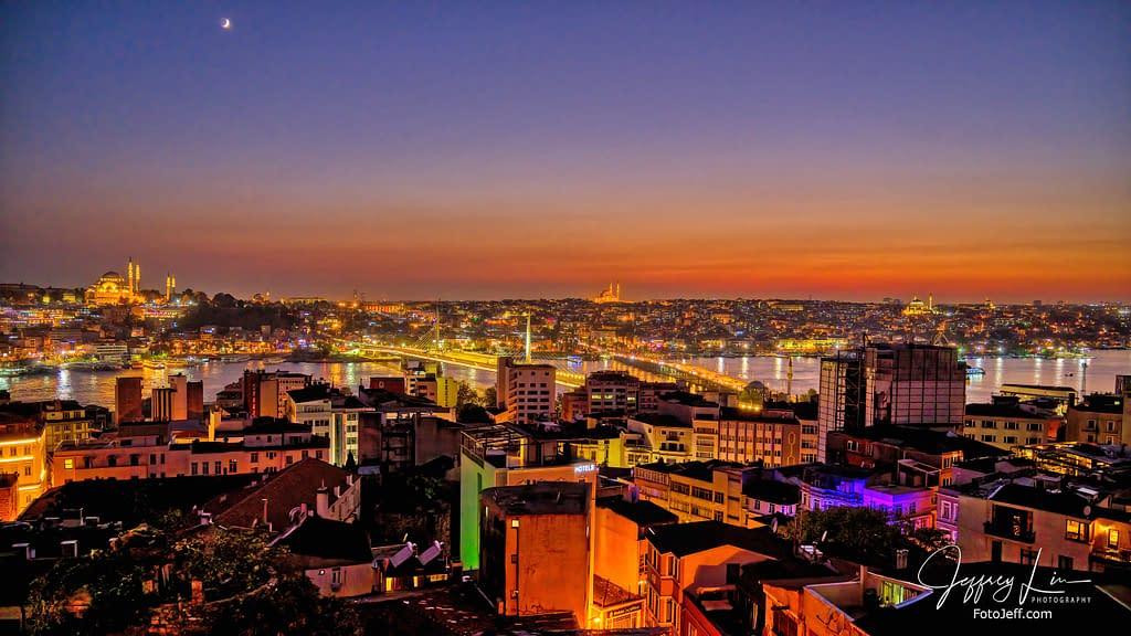 123. Istanbul Night Landscape