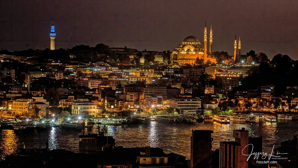 124. Hagia Sophia at Night