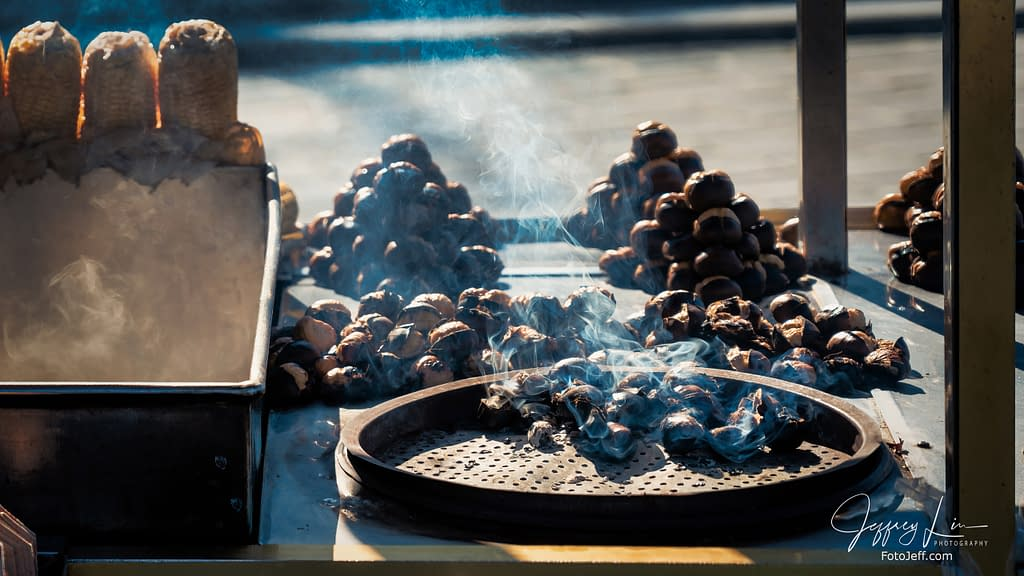 47. Turkish Chestnut Dessert (Kestane)