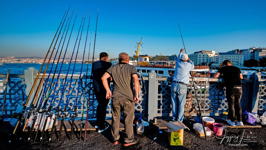 58. Galata Bridge Anglers