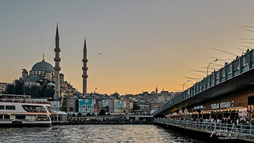65. Sunset at Galata Bridge