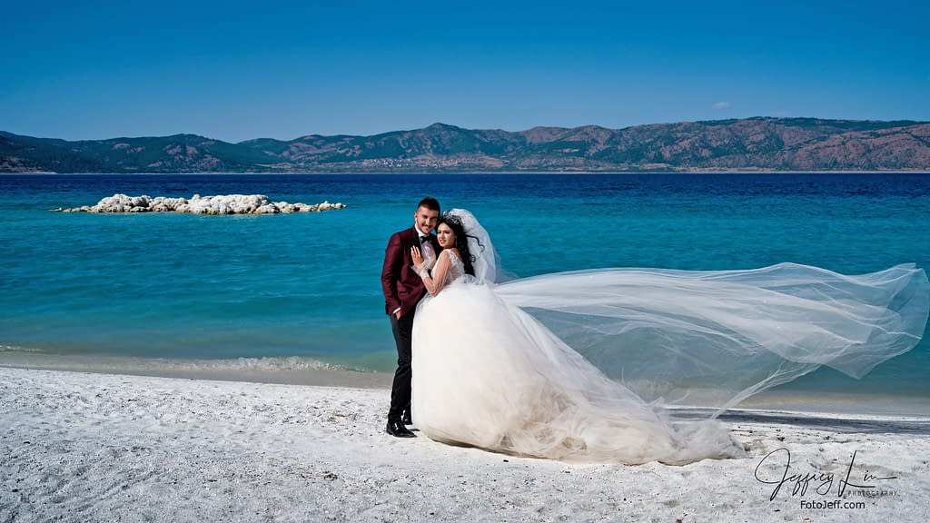 17. An Opportunity to Shoot a Wedding Couple at Ephesus Beach