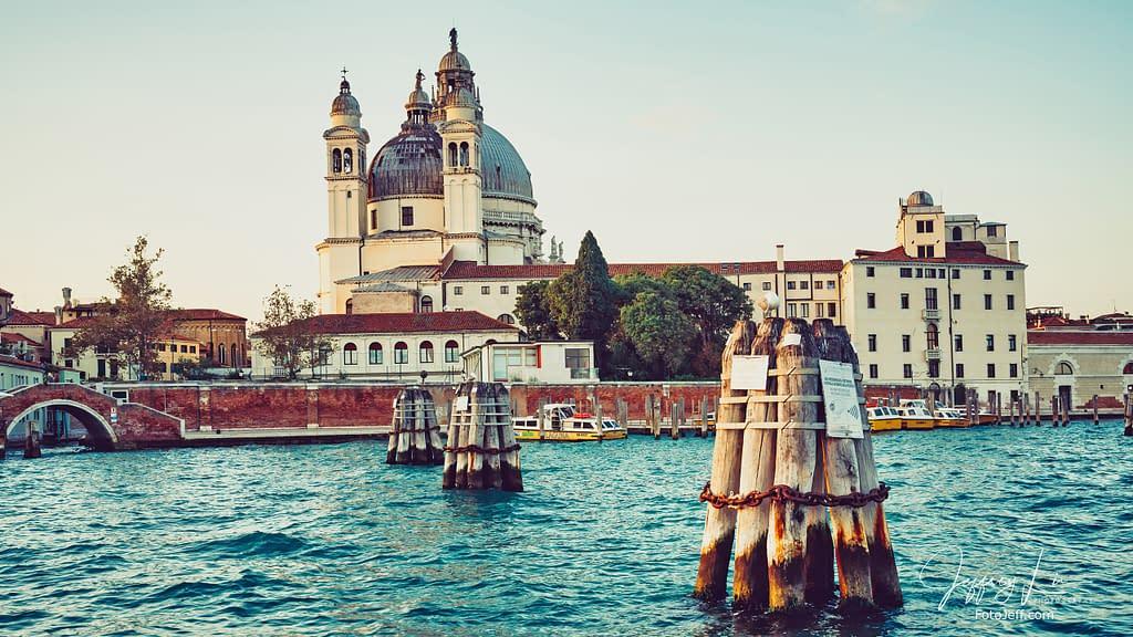 6. Mooring Poles with Santa Maria della Salute in the Background