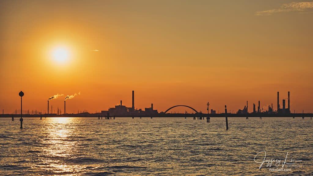 8. Sunset in Venice