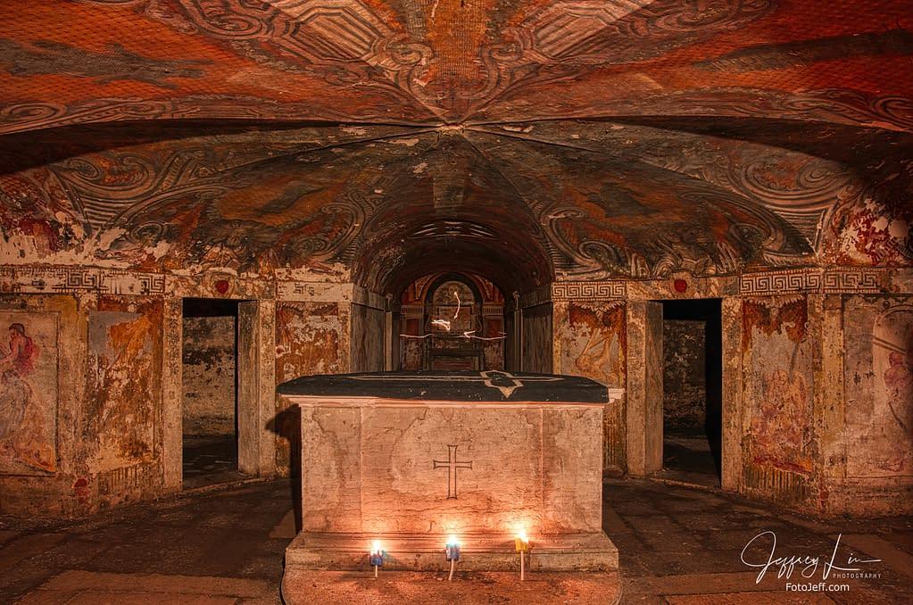 21. The Underground Crypt at Chiesa di San Simeon Piccolo
