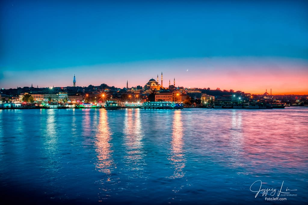70. Nightscape at Hagia Sophia