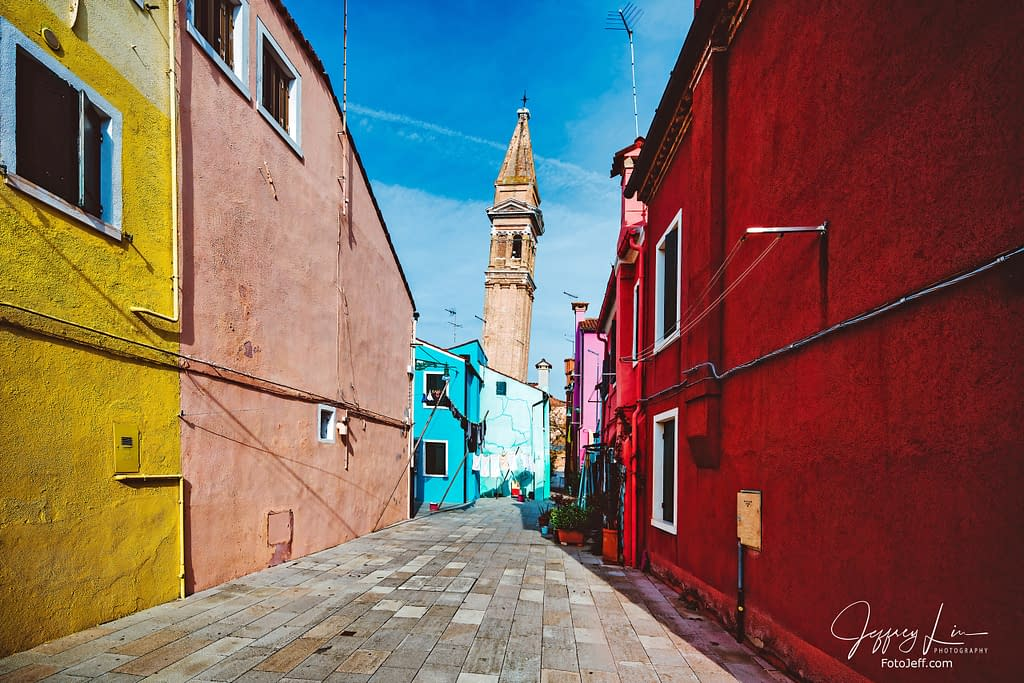 39. The Leaning Bell Tower of Burano (Campanile of San Martino)