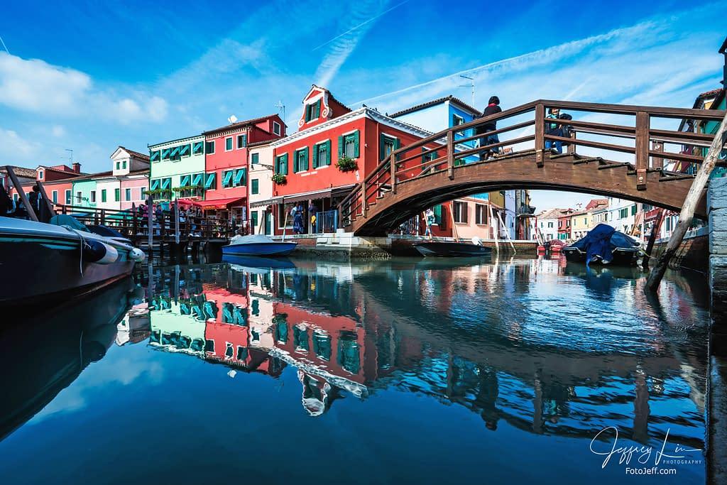 43. The Famous Wooden Bridge (Tre Ponti) in Burano