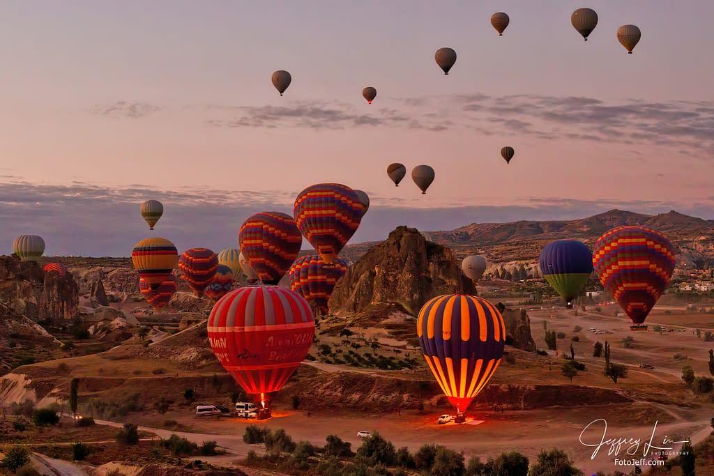 6. 6:24 am - Incredibly Scenic from Hot Air Balloon Cappadocia