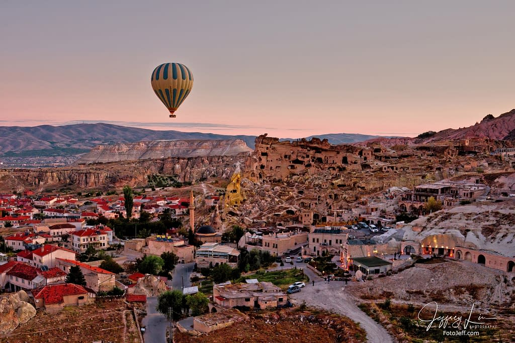 7. 6:30 am - Incredibly Scenic from Hot Air Balloon Cappadocia