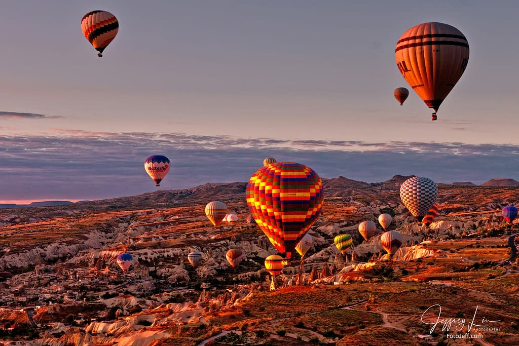 16. 6:49 am - Incredibly Scenic from Hot Air Balloon Cappadocia