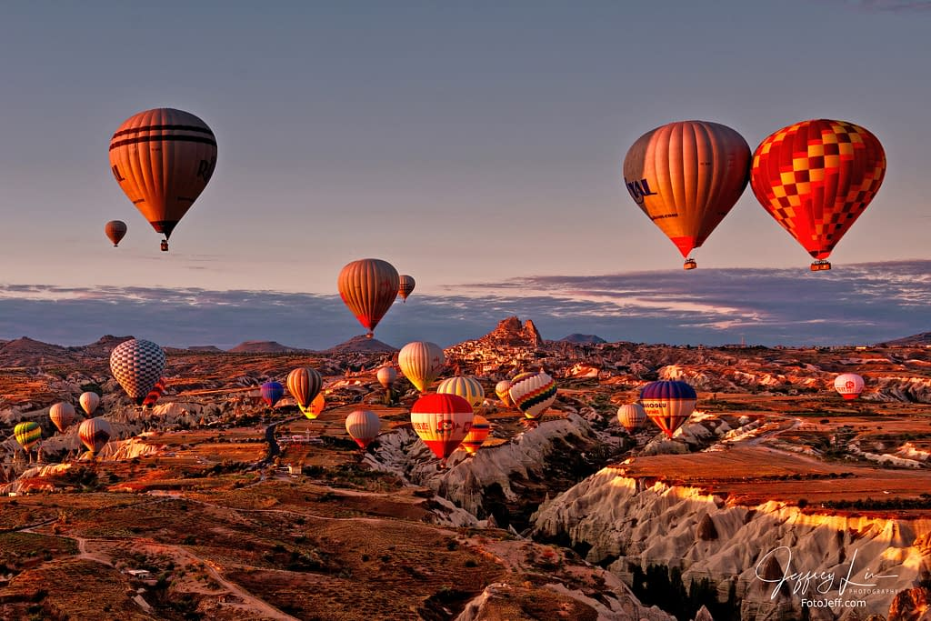 17. 6:49 am - Incredibly Scenic from Hot Air Balloon Cappadocia
