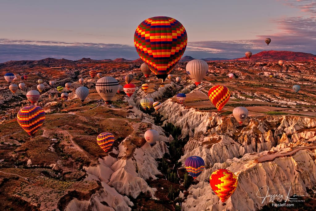 18. 6:50 am - Incredibly Scenic from Hot Air Balloon Cappadocia