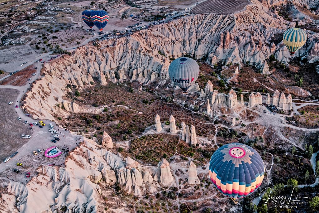 19. 6:52 am - Incredibly Scenic from Hot Air Balloon Cappadocia