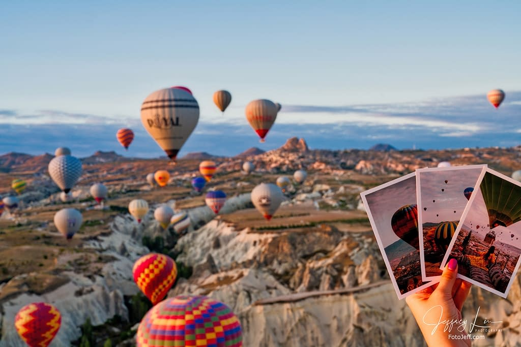 21. 6:53 am - Incredibly Scenic from Hot Air Balloon Cappadocia