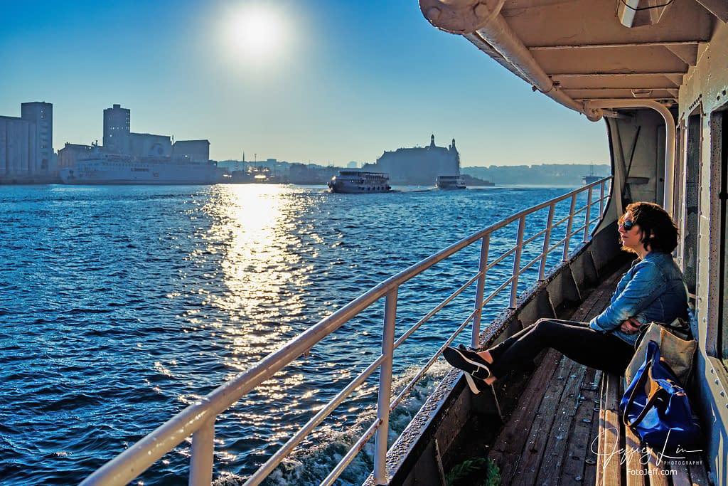 5. Inside Eminönü-Kadıköy Ferry to Anadolu Yakası