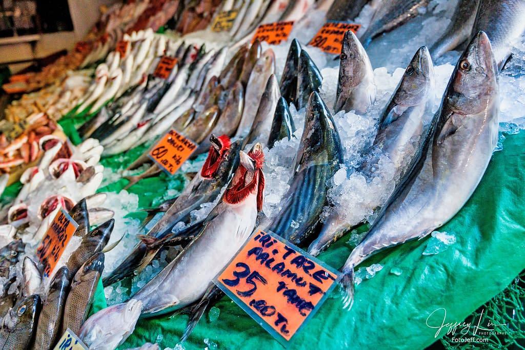 18. Fresh Fish in Kadıköy Fish Market