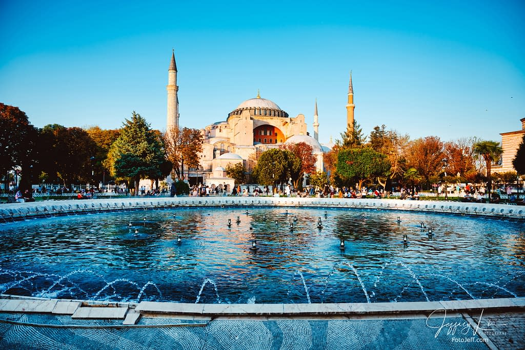 121. Hagia Sophia and Sultan Ahmad Maydan Fountain