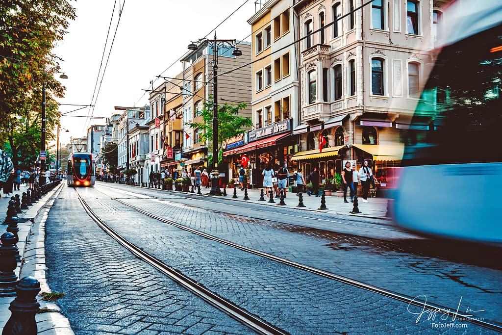 122. Tram to Hagia Sophia
