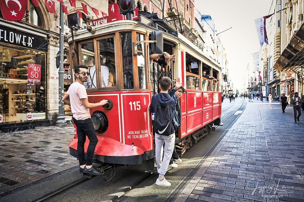 18. Istanbul Nostalgic Tram