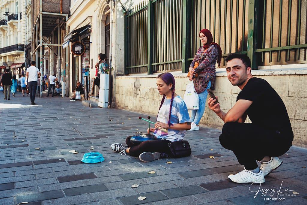 30. Street Performers in Istiklal Caddesi