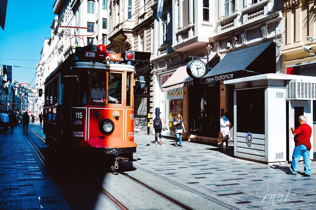 32. Istanbul Nostalgic Tram