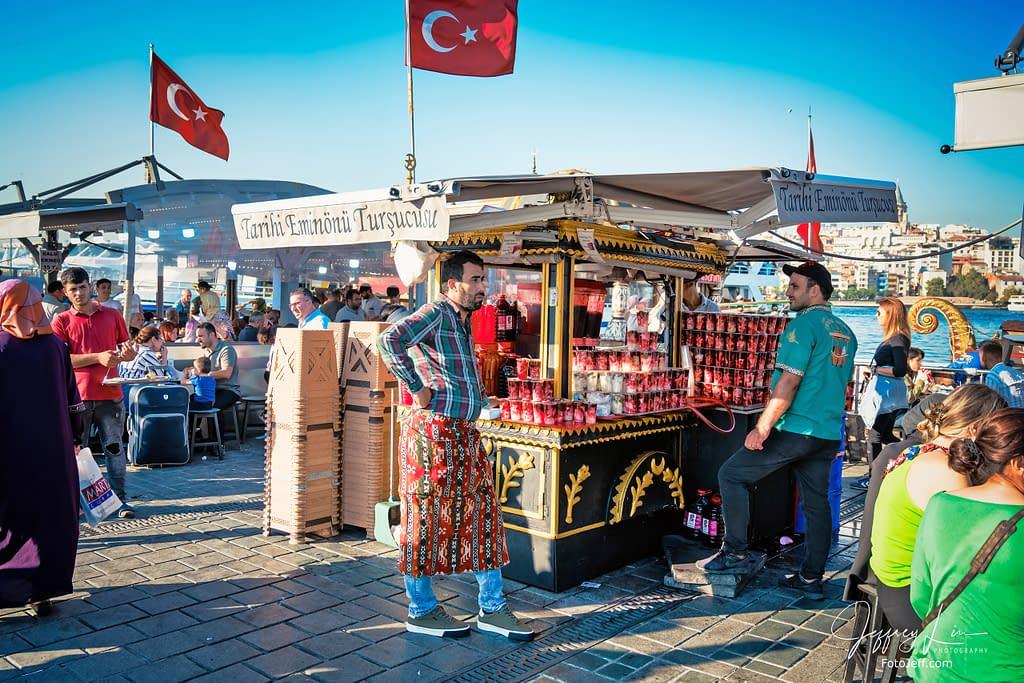 45. Tarihi Eminönü Turşucusu Streetshop at Eminönü Pier