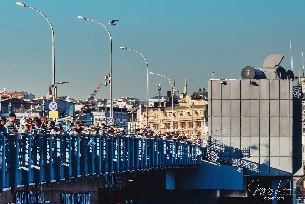 57. Galata Bridge Anglers