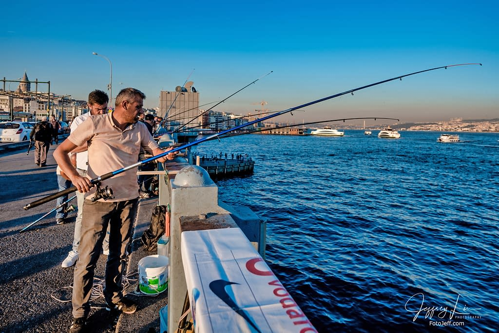 61. Galata Bridge Anglers