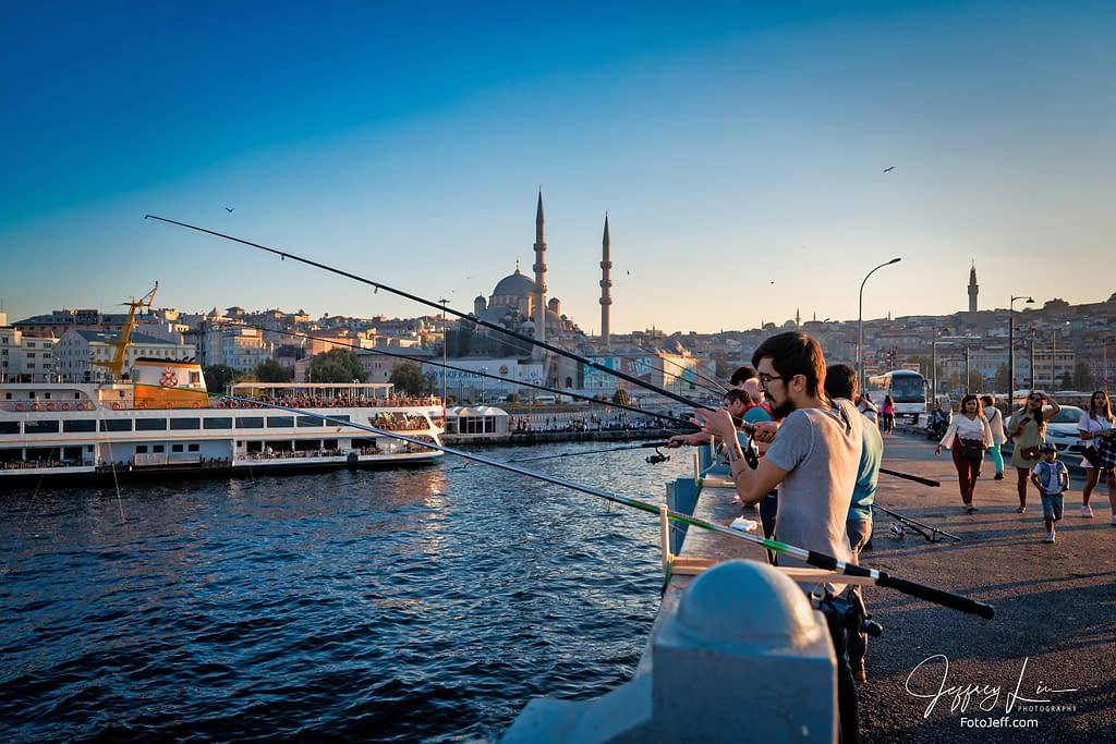 62. Galata Bridge Anglers