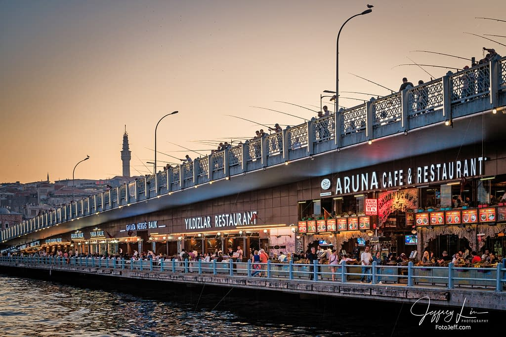 66. Galata Bridge Anglers
