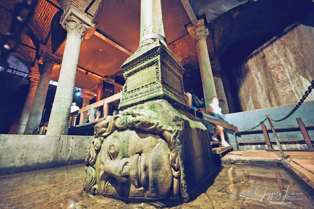 75. Medusa Head Pillar