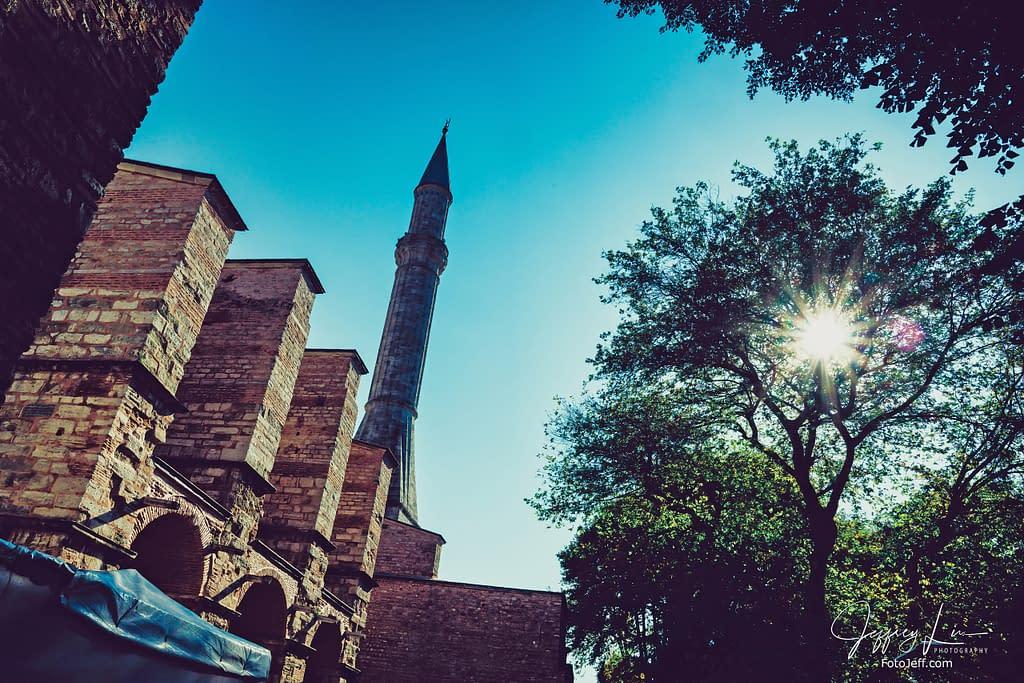 77. Hagia Sophia Minarets