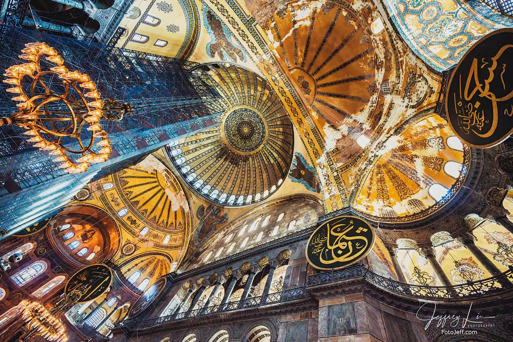 78. Restoration Works at Hagia Sophia