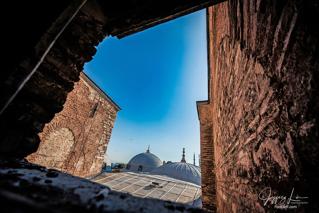 84. Hagia Sophia Window