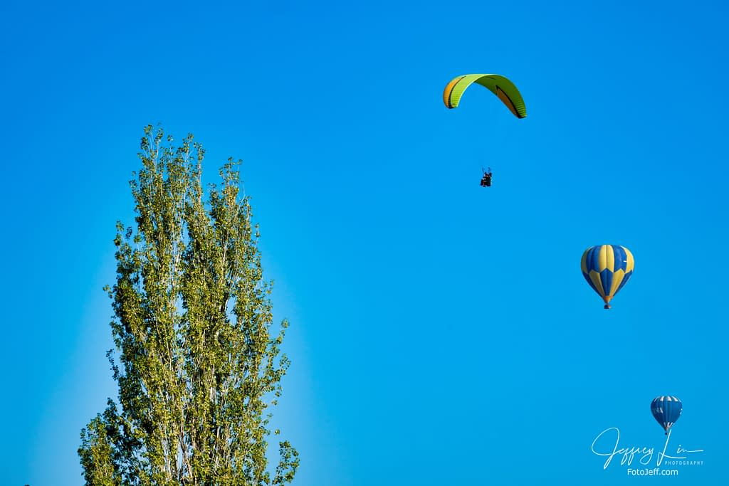 1. Paragliding and Hot Air Balloon in Pamukkale