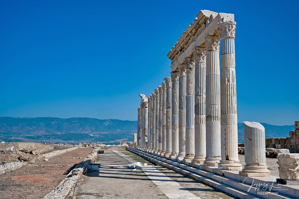 10. Archaeological Site of 7,500 Years Old Laodicea, the Last Church of Revelation