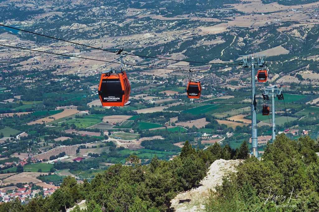 13. Denizli Teleferik – Cable Car