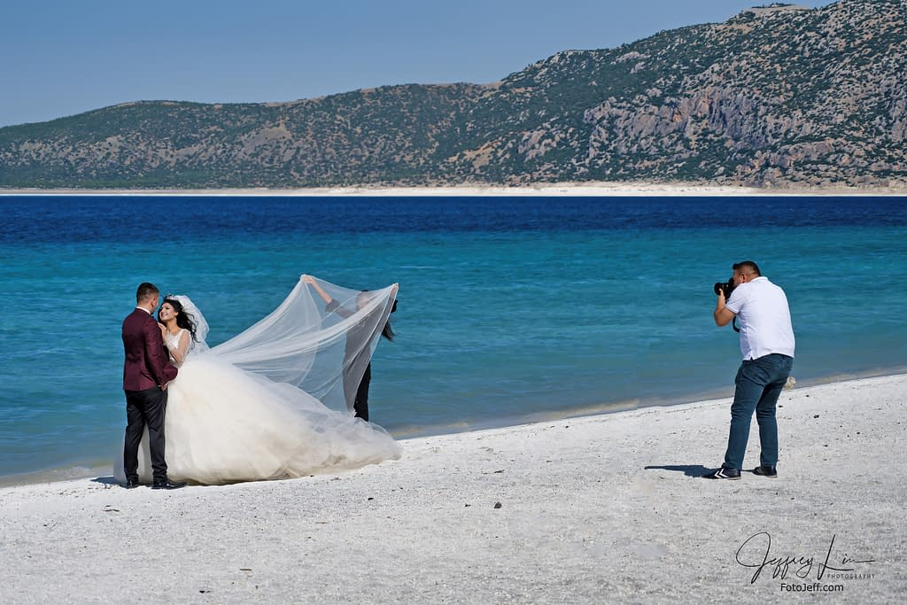 16. An Opportunity to Shoot a Wedding Couple at Ephesus Beach