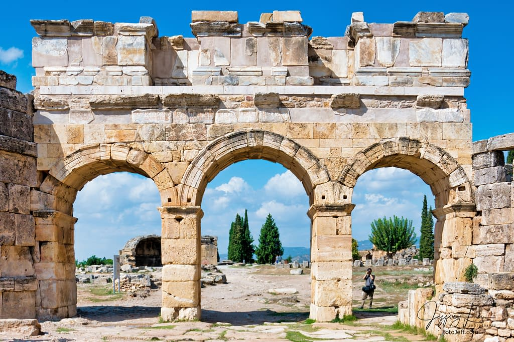 46. The Frontinus Gate of Hieropolis