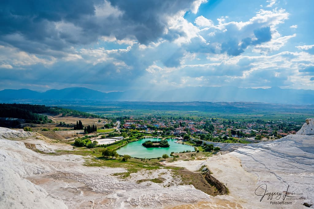 55. Panoramic Views of Pamukkale