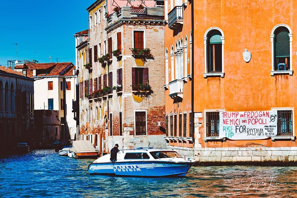 101. Police Patrol Boat in Venice (Polizia Locale di Venezia)