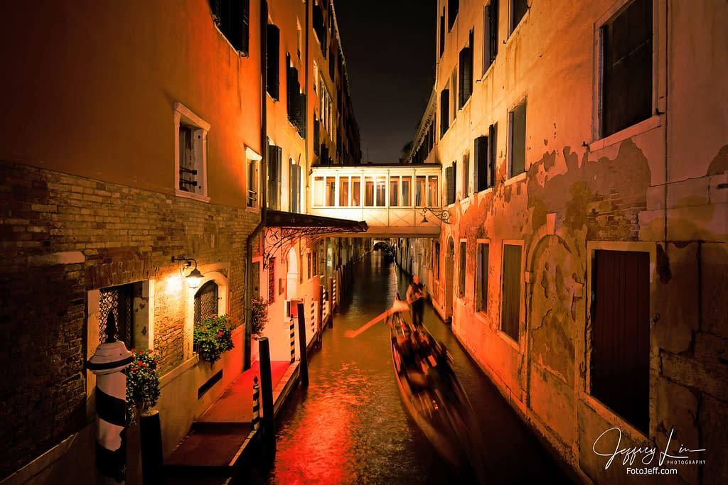 52. Venice Canal at Night