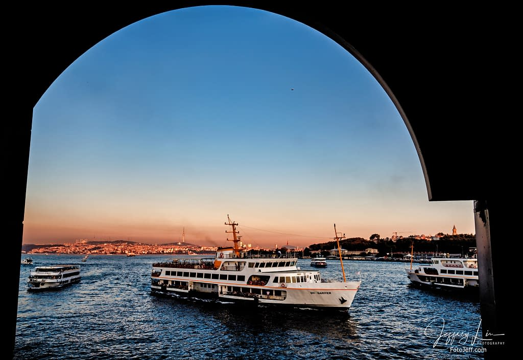 64. Sunset at Galata Bridge