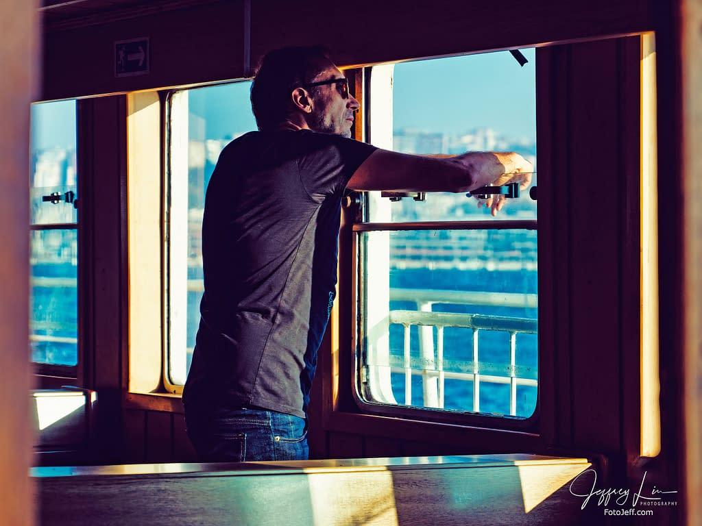 3. Inside Eminönü-Kadıköy Ferry to Anadolu Yakası